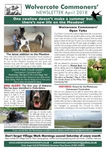 WCC April 18 Newsletter post
