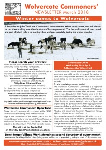 WCC March Newsletter