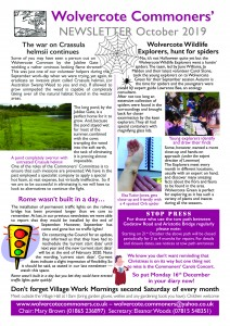 WCC newsletter Oct mail 2019